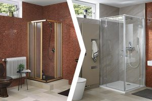 Teilsanierung Dusche
